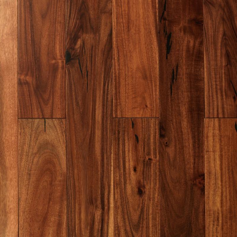 Exotic acacia hardwood flooring