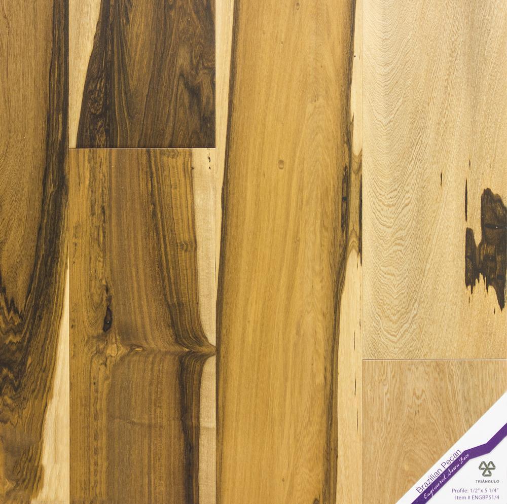 Exotic guajuvira hardwood flooring