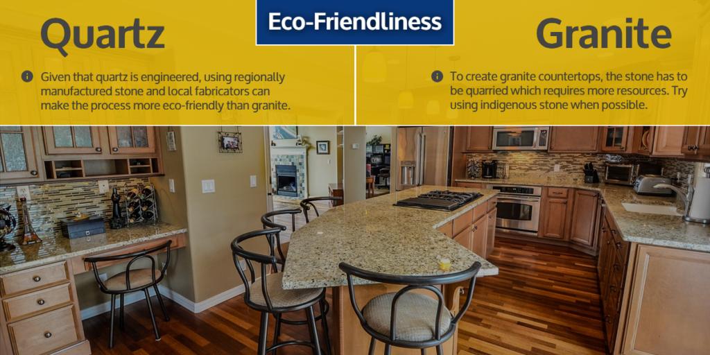 Quartz & Granite Countertops - Eco-friendliness | StoneSense