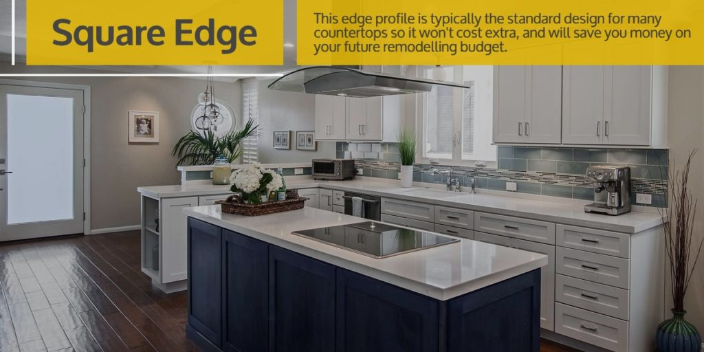 Square Edge Stone Countertop | Square Edge vs. Beveled Edge Countertops | StoneSense