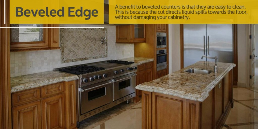 Beveled Edge Stone Countertop | StoneSense