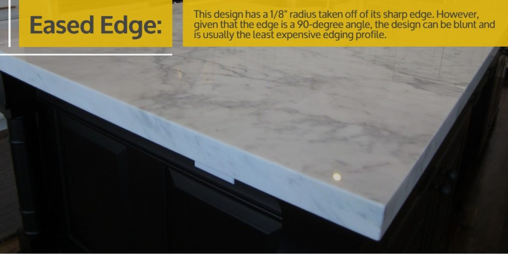 Eased Edge Stone Countertop | StoneSense