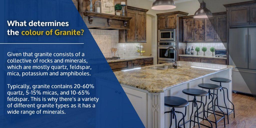 What determines the colour of Granite?   StoneSense