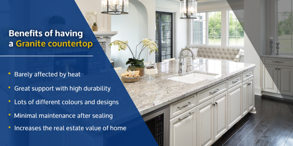 Benefits of having a Granite countertop | Which Granite is Best for Kitchens? | StoneSense