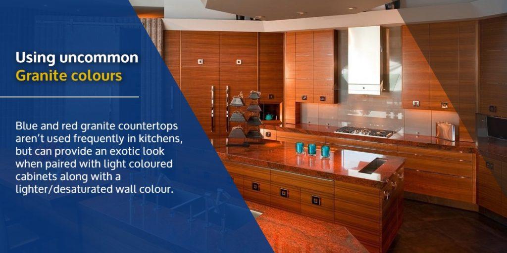 Using uncommon Granite colours | StoneSense