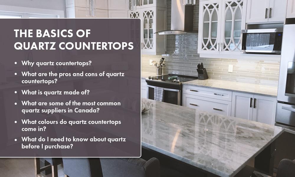 Basics of Quartz Countertops